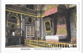 chambre louis 14 versailles palace chambre coucher louis xiv bedroom hippostcard
