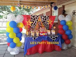 toy story woody and jessie birthday party ideas photo 9 of 28
