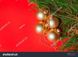 particular tree decorations stock photo
