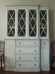 european paint finishes secretary display hutch