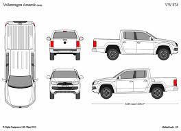 Vehicle Outline Templates 2d 3d vehicle outlines