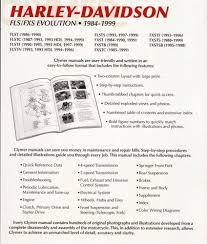 28 harley davidson softail repair manual 1996 2006 2009