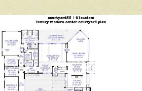 interior courtyard house plans home plans house plan courtyard plansanta fe style small with open