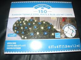 random twinkle led net lights upc 764878661953 holiday time random twinkle led net christmas