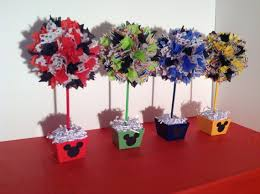 mickey mouse centerpieces alishakaydesigns mickey mouse birthday party decorations
