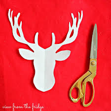 red nosed christmas reindeer decorations creative