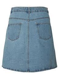 light blue skater skirt short denim skater skirt blue