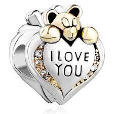 s day bracelet with birthstones leo bon s day heart i you clear birthstone