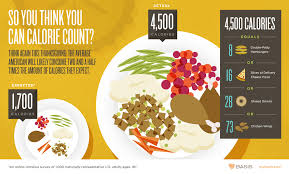 thanksgiving dinner calorie