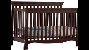 Storkcraft Portofino Convertible Crib And Changer Combo Espresso by Stork Craft Venetian Fixed Side Convertible Crib Youtube