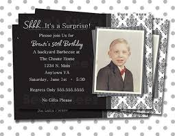 surprise birthday party invitations for him oxsvitation com