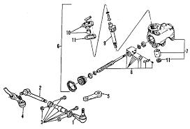 1993 ford ranger xlt parts parts com ford ranger steering gear linkage oem parts