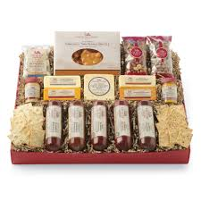 gourmet cheese gift baskets all day celebration gift box gift purchase our gourmet sausage