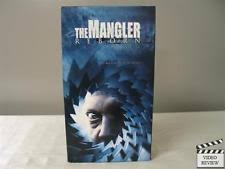 Reggie Banister The Mangler Vhs Ebay