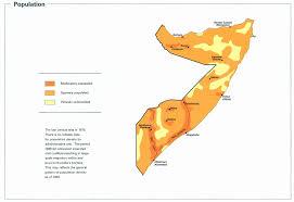 Map Of Somalia Nationmaster Maps Of Somalia 16 In Total