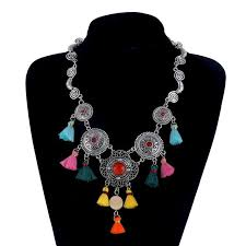 fashion statement collar necklace images Lovbeafas bohemian maxi statement collar necklace women ethnic jpg