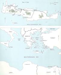 Crete Map Chapter 1 That Greece Might Still Be Free The Anzac Portal