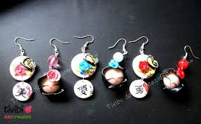 japan earrings fimo japan doll and kanji earrings by tivibi on deviantart