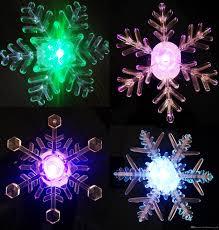 new brand led window suction snowflake decoration light