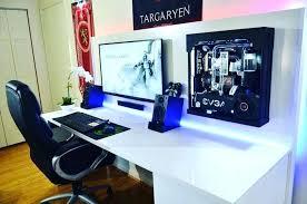 l shaped desk gaming setup computer desk gaming corner workstation best l shaped desk pc gaming