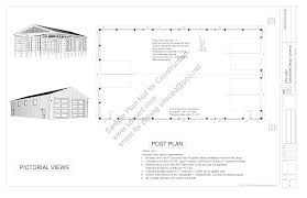 free barn plans first class 4 pole building plans free download free sle pole