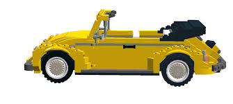 lego volkswagen beetle vw beetle cabrio made in lego digital designer bricksafe