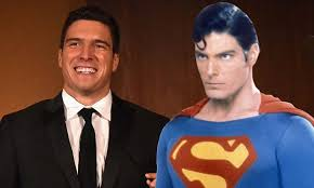 reeve 25 spitting image famous superman dad