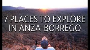 anza borrego 7 places to explore in anza borrego desert state park youtube