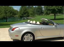convertible for sale sold 2002 lexus sc 430 top convertible for sale 53k
