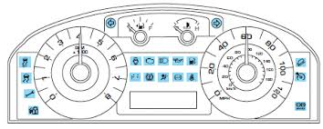 honda crv 2009 warning lights on dashboard ford escape warning lights and chimes instrument cluster ford