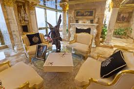 Inside Donald Trumps  Million Penthouse Donald Trump Home - Trump home furniture