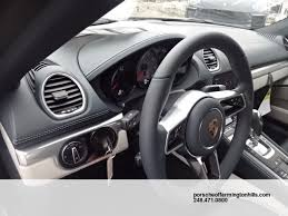 porsche graphite blue interior new 2017 porsche 718 cayman s