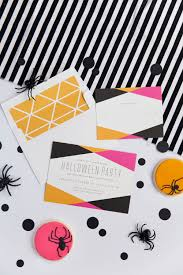 halloween invitations bright and colorful halloween party ideas tell love and