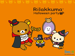 halloween computer cute rilakuma hd desktop wallpaper desktop wallpaperchanel com