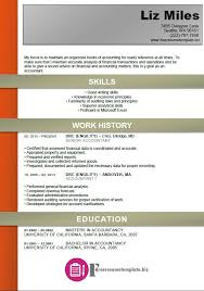 resume template accounting entry level accounting resume sample