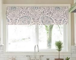 Kitchen Valance Curtains by Kitchen Valances Etsy