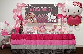 hello kitty birthday cakes for themed kids birthday home decor