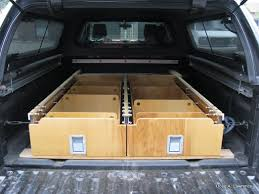 Platform Bed Diy Drawers by Latest Project Truck Drawers Sleeping Platform Expedition Portal