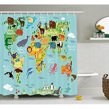 Childrens Shower Curtains Childrens Shower Curtain