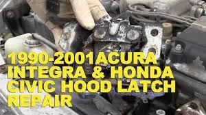 honda civic latch 1990 2001 acura integra honda civic latch repair