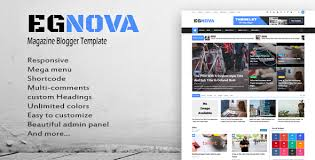 templates blogger themes egnova news magazine responsive blogger template by themelet
