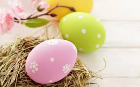 pink easter eggs eggs easter pink yellow green wallpaper 2560x1600