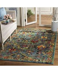 Area Rug 6 X 9 Deal Alert Safavieh Transitional Blue Area Rug 6