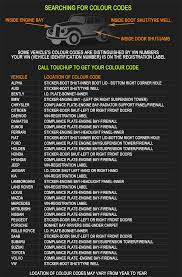 lexus interior color chart color code guide u0026 locations find color code sticker or name
