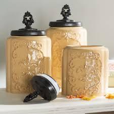 28 designer kitchen canister sets vintage 1970s metal designer kitchen canister sets design guild 3 piece kitchen canister set amp reviews