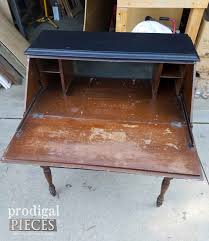 Secretary Style Computer Desk by Secretary Desk With English Cottage Style Prodigal Pieces