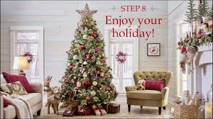 pier 1 imports one beautiful christmas tree in 8 easy steps youtube