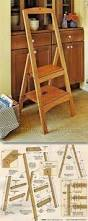 build a diy wooden step stool with these free plans free sprial