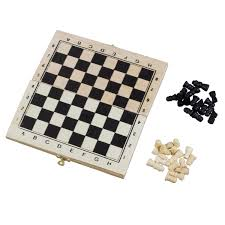 Wooden Chess Set by Foldable Wooden Chessboard Travel Chess Set With Lock And Hinges