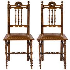 Thonet Bistro Chair Pair Of Rare Thonet Bistro Chairs With Leather Seats Circa 1900
